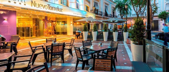 Terrasse Hotel Nuevo Torreluz